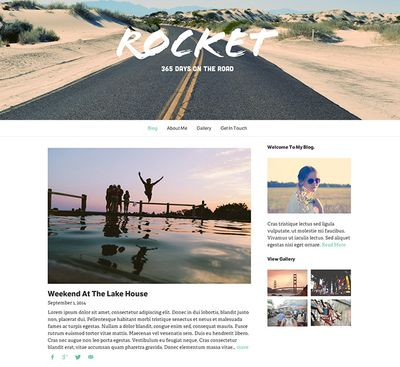 Website Template Rocket