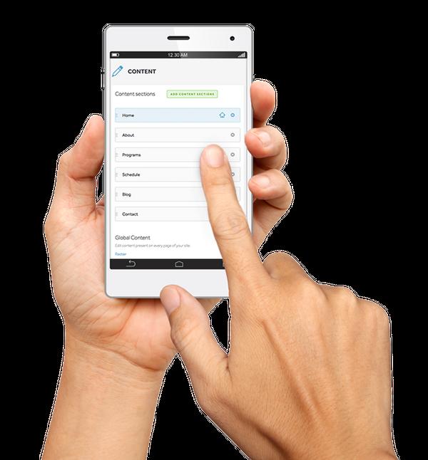 Websites 360® CMS Mobile
