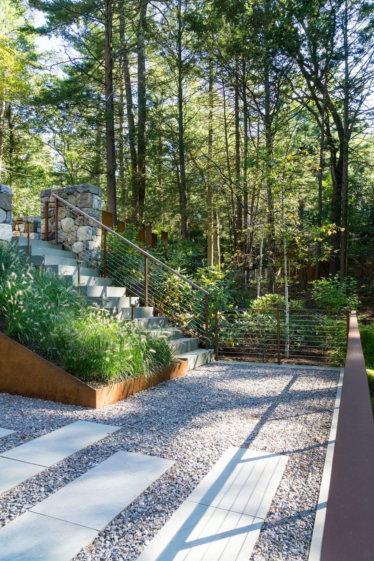 ANDLC-Lincoln Corten Planter Wall and back patio 3.jpg