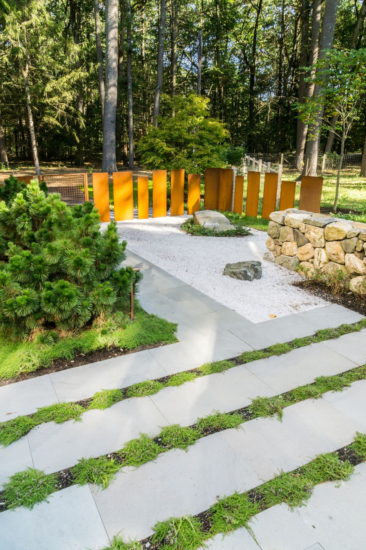 ANDLC-Lincoln inside view of front Corten fence 3.jpg