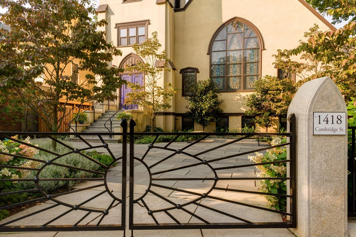 ANDLC-First United Presb Church Front Courtyard and Gate.jpg