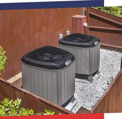 Image of two AC Units Installed