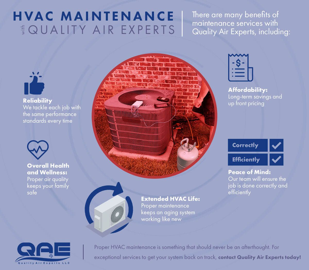 Maintenance Benefits Infographic