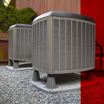 Image of outdoor HVAC units