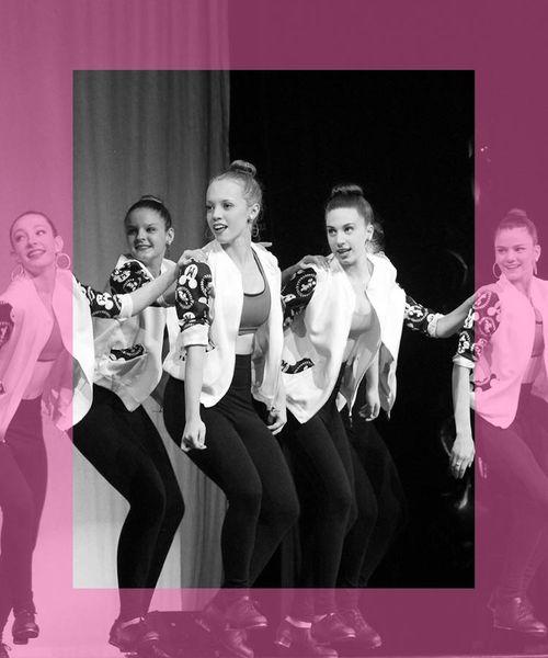 team of tap dancers