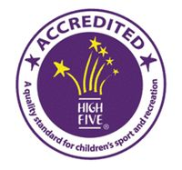 High Five children's sport and recreation logo