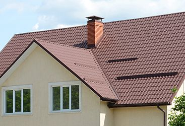 Image of residential metal roofing.