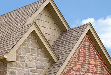 Image of a residential shingle roof.