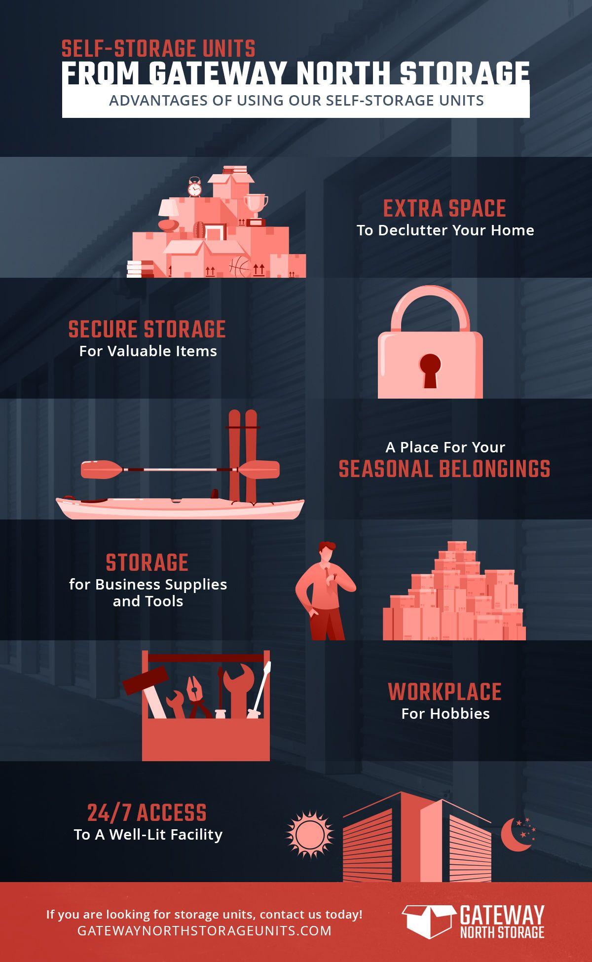 storage unit graphic