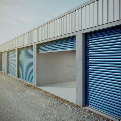 open storage unit